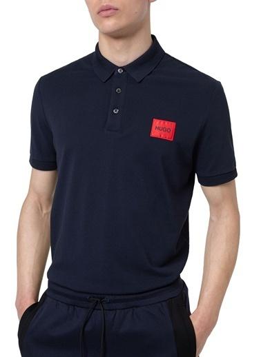 Hugo Boss  Pamuklu Slim Fit Polo T Shirt Erkek Polo 50447938 405 Lacivert